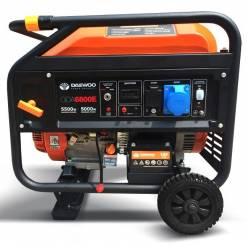 Бензиновый электрогенератор Daewoo GDA 6800E